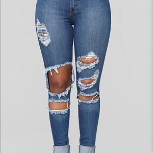 Beach bum jeans